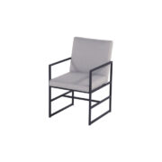 AMSTERDAM DINING CHAIR MID GREY