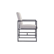 AMSTERDAM DINING CHAIR MID GREY 2