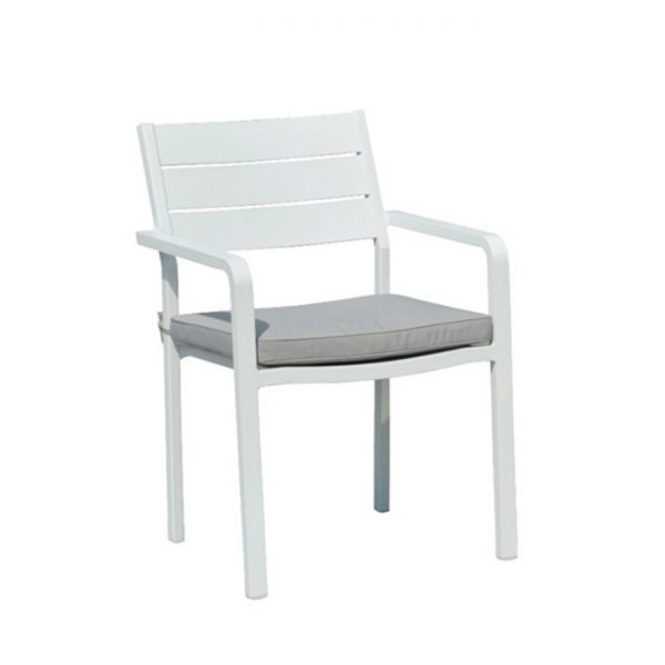 Barolo dining chair white