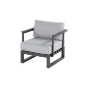 CALABRIA LOUNGE CHAIR CHARCOAL