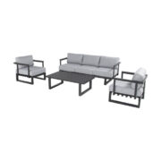 CALABRIA LOUNGE SET CHARCOAL