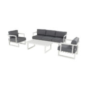 CALABRIA LOUNGE SET WHITE#