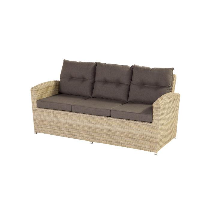 Komodromos Canterbury 3 Seater Sofa Sunny Cream