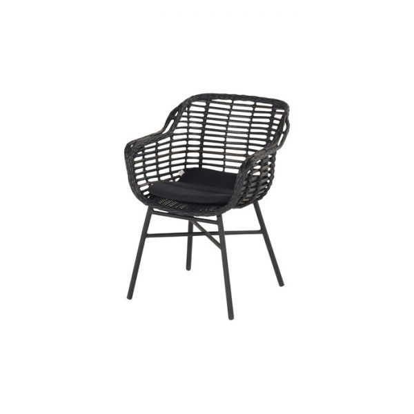 CECILIA DINING CHAIR PUMA BLACK