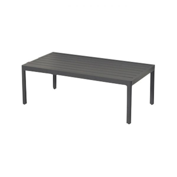 CHARLEROI COFFEE TABLE CHARCOAL ALU