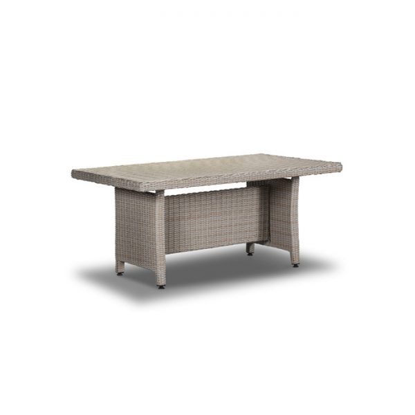 CRANBERRY LOUNGE DINING TABLE 146X86X66CM MEXICAN SAND