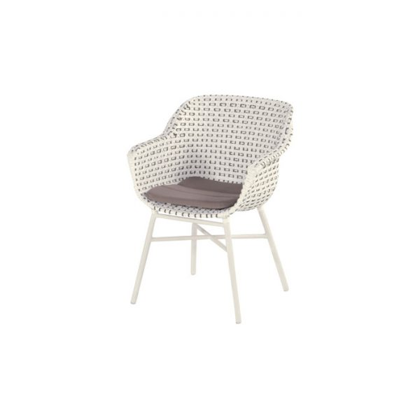 DELPHINE DINING CHAIR MOCCASSINO