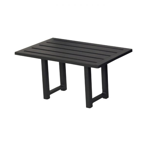 DION COFFEE TABLE ALU BLACK