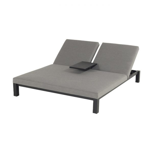 EVA DOUBLE LOUNGER MID GREY