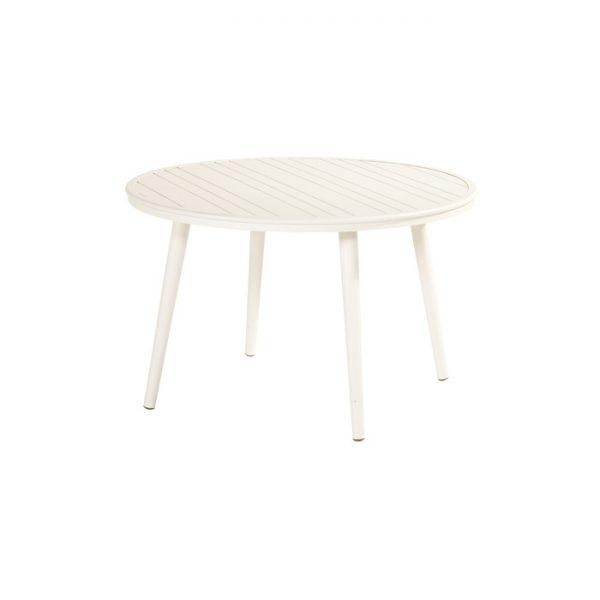 FERNANDO TABLE ROUND 120CM WHITE