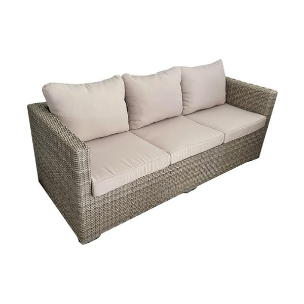 FERRARA 3 SEATER SOFA MISTY GREY 2