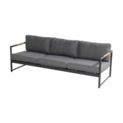 FONTAINE 3 SEATER SOFA CHARCOAL