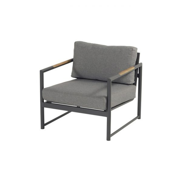 FONTAINE LOUNGE CHAIR CHARCOAL