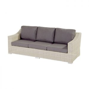 GOLIATH 3 SEATER SOFA ASH WHITE