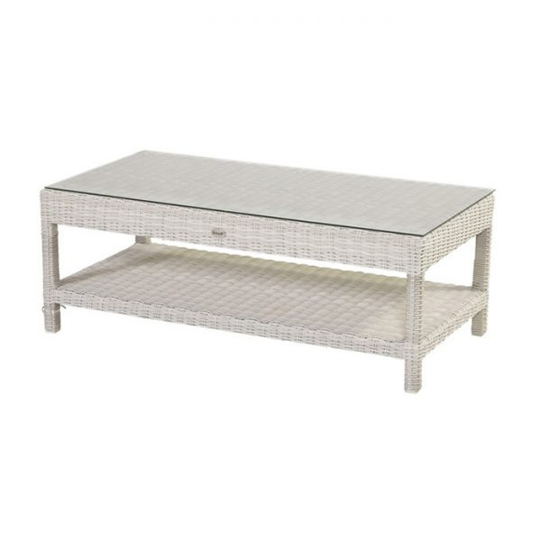 GOLIATH COFFEE TABLE 130X65CM ASH WHITE