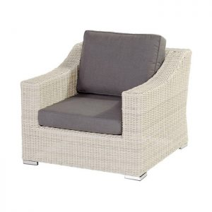 GOLIATH LOUNGE CHAIR ASH WHITE