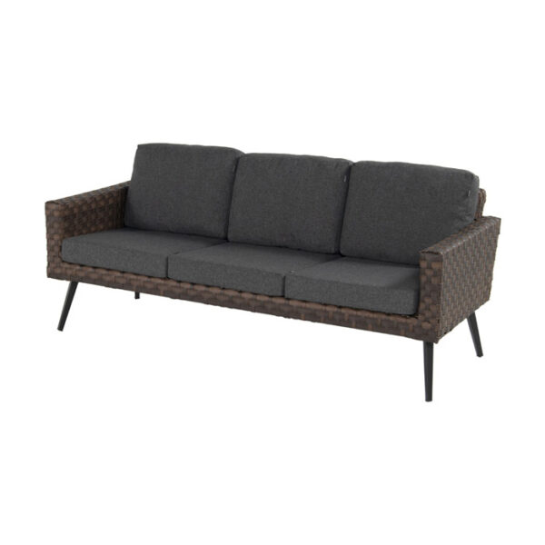 MALTA 3 SEATER SOFA LEATHER
