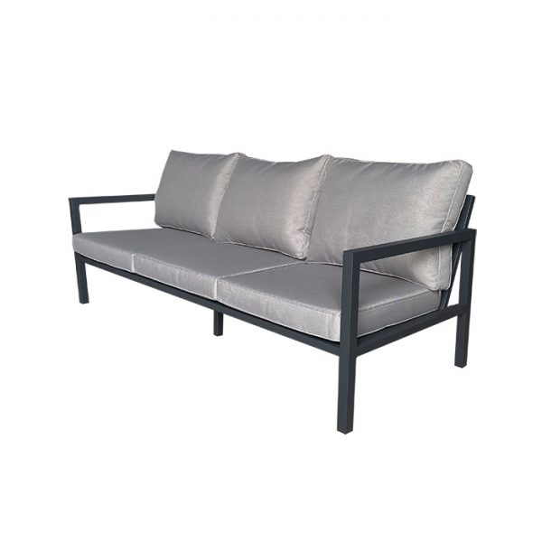 PALLAZO 3 SEATER ANTHRACITE B