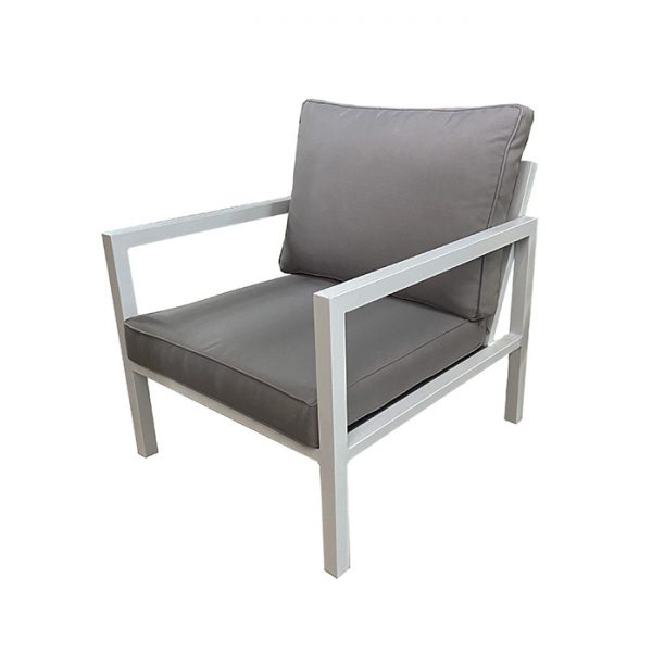 PALLAZO LOUNGE CHAIR WHITE 2