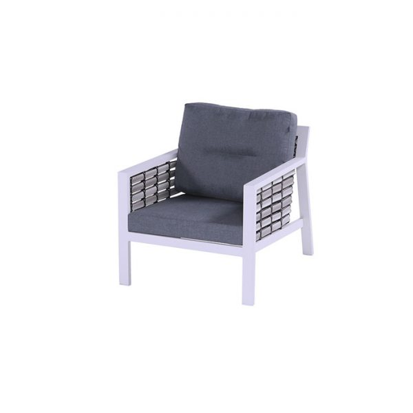 SAN JUAN LOUNGE CHAIR WHITE