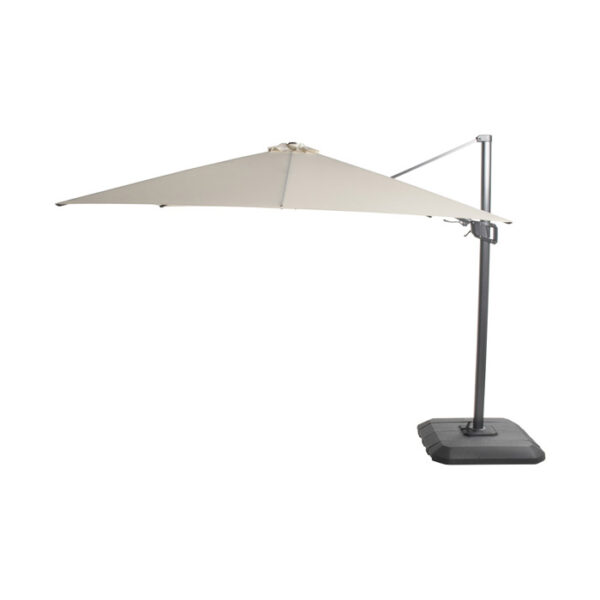 SHADOWFLEX UMBRELLA 300X300CM NATURAL