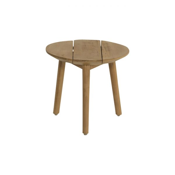 SOPHIE SIDE TABLE 50CM TEAK WOOD