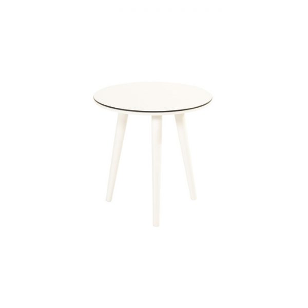 SOPHIE SIDE TABLE R 45CM WHITE HARTMAN