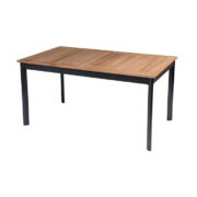 SOUTHWALES TABLE WITH TEAK TOP