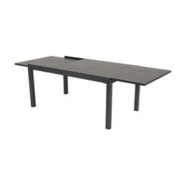 TIPPERARY TABLE EXTEN 260 160X90CM XERIX WITH HPL TOP