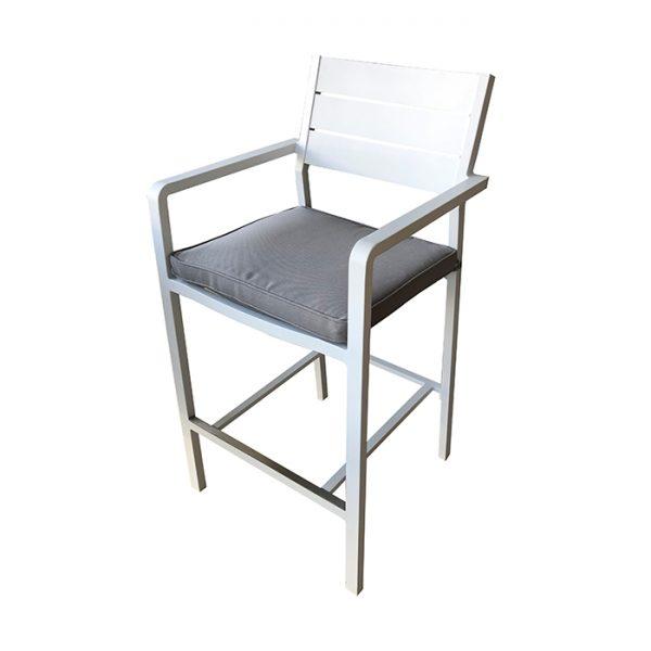 barolo stool white 700x700px
