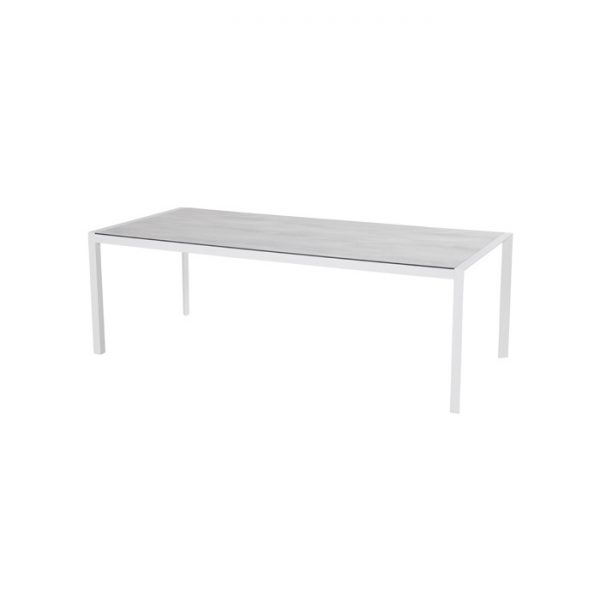 california table 225x100cm white hpl