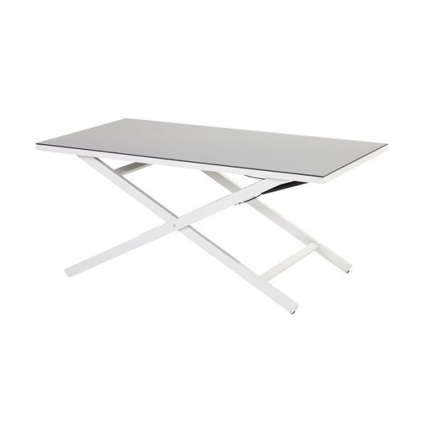 cannes coffee table adjustable 138x80x37-69cm
