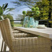 canterbury table 247x96cm white