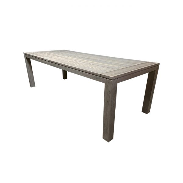 picasso table 240x100cm light grey teak