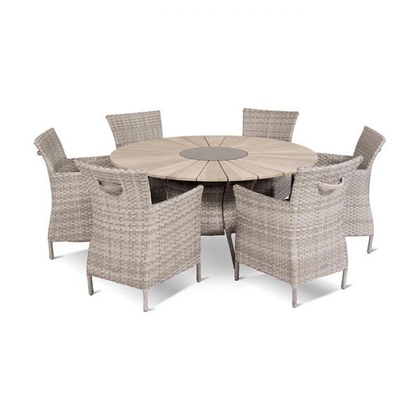 provence-table-150cm-java-chair-royal-grey