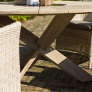 provence table round 150cm with java chais