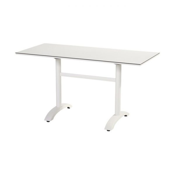sophie bistro table 136x68cm white