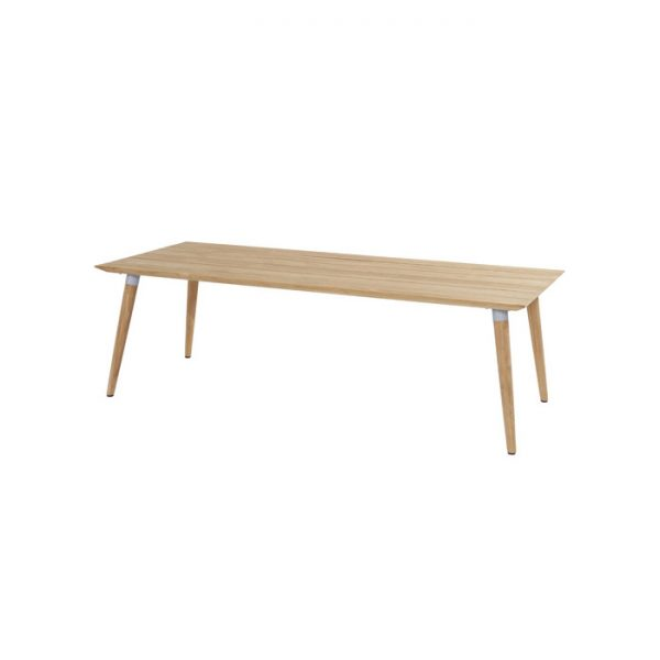 sophie table 240x100cm teak white