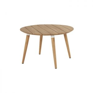 sophie table r 120cm teak white